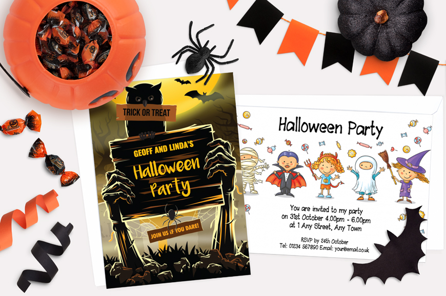 halloween party invitations halloween invites design online plus